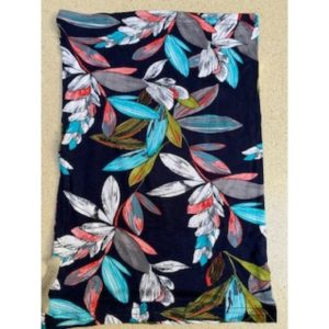 Adult Buff Navy Floral