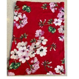 Kids Buff Red Cherry Blossom