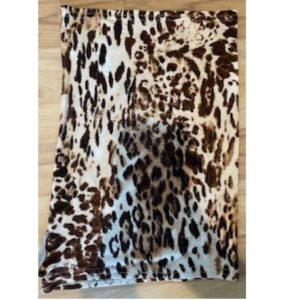 Adult Buff brown Animal print