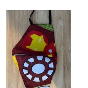 Kids Mask Iron Man
