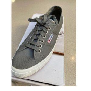 Superga Gray (Dark Sage) sneaker
