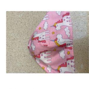 Kids Mask Pink Unicorns