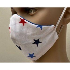 Kids Mask Denim & Stars