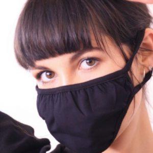Ladies Soft Mask  Black
