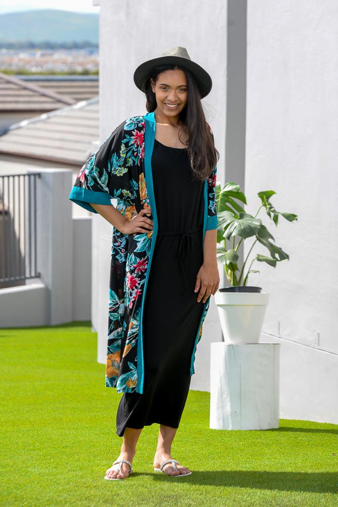 SS21 Black Benito & Long Kimono