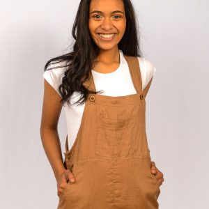 SS21 Latte Dungaree middle