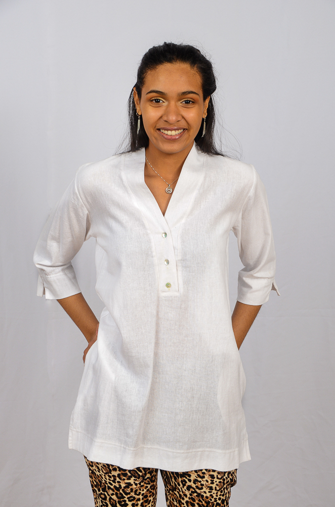SS21 Tunic White front